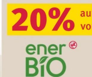[Rossmann ab 02.11.] 20% auf Alles von EnerBio