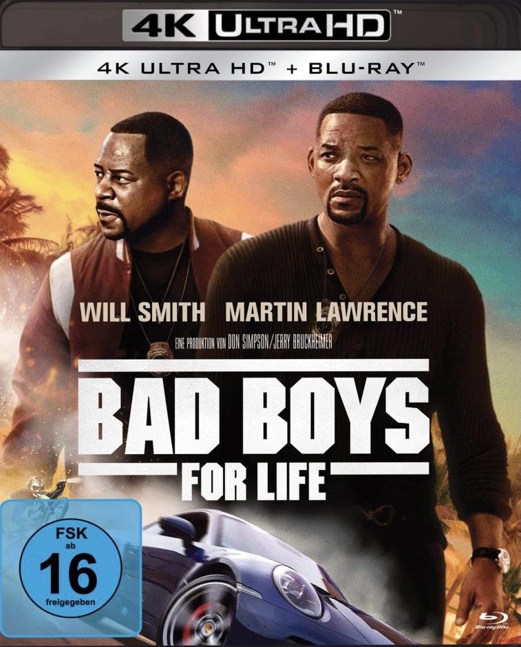 Bad Boys for Life (4K Blu-Ray, Amazon Prime)