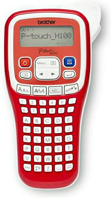 [Media Markt Abholung] BROTHER PT-H100R Beschriftungsgerät Rot/Weiß für 12,60€