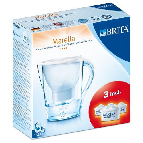 BRITA Marella Wasserfilter Starterset mit 3 Kartuschen im Kaufland