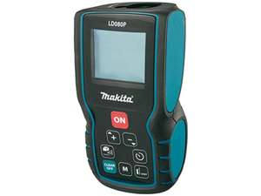 """Makita Laser-Entfernungsmesser """"LD080P"""" (80 m, Messen von Längen, Flächen und Volumen) [iBOOD]"""