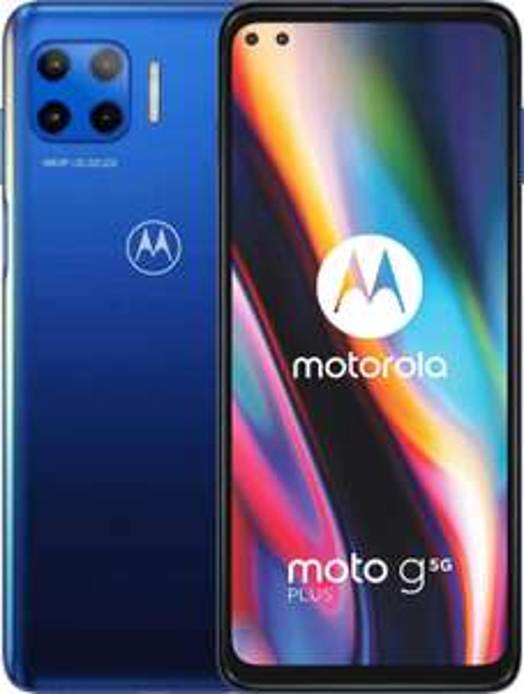 "moto g 5G plus Dual-SIM Smartphone (6,7""-CinemaVision-FHD-Display, 48-MP-Vierfach-Kamerasystem, 128 GB/6 GB, Android 10) [Amazon]"