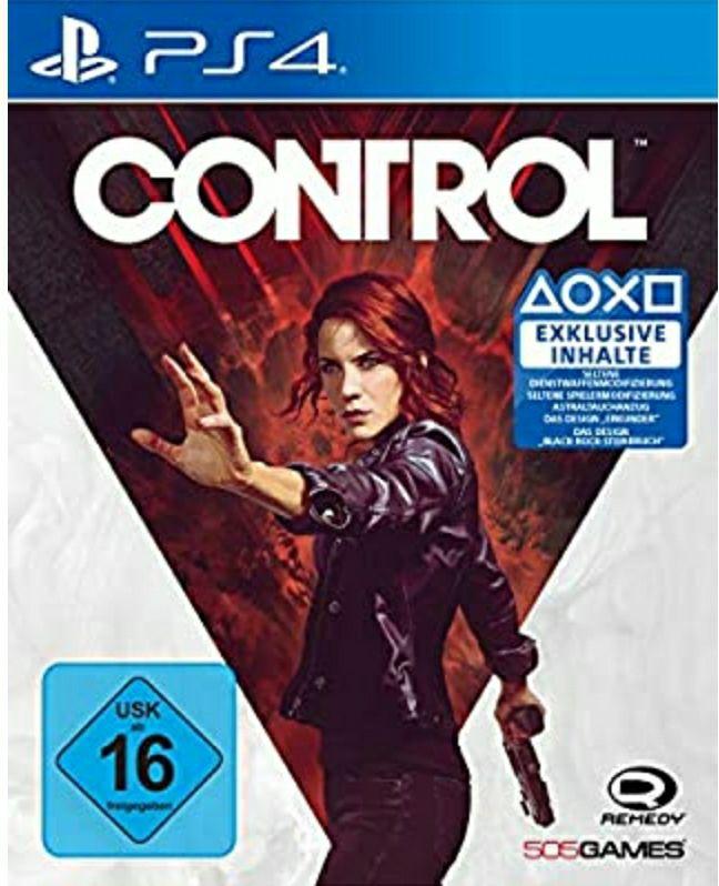 Control für PS4 mit Amazon Prime für 19,39€