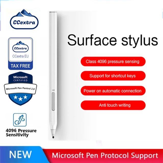 MPP 2,0 CCextra Surface Pen für Microsoft Surface Magnetic Stylus Pen, 4096 Druckempfindlichkeit, Tilt & Palm Rejection
