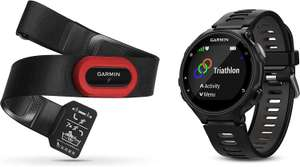Garmin Forerunner Bundle 735XT Fitness-Smartwatch (GPS, Pulsmessung, wasserdicht) + HRM-Run Herzfrequenz-Brustgurt in Schwarz oder Türkis