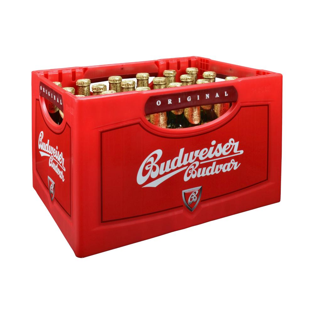 (Citti Märkte) Kasten Budweiser 24*0,33 Flaschen für 11€