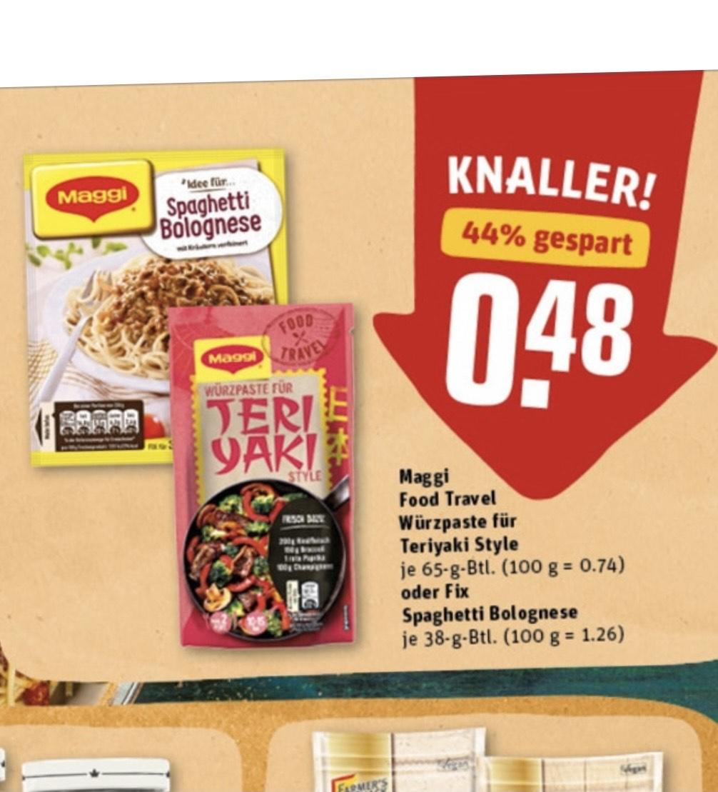 REWE Maggi Food Travel Würzpaste Teriyaki