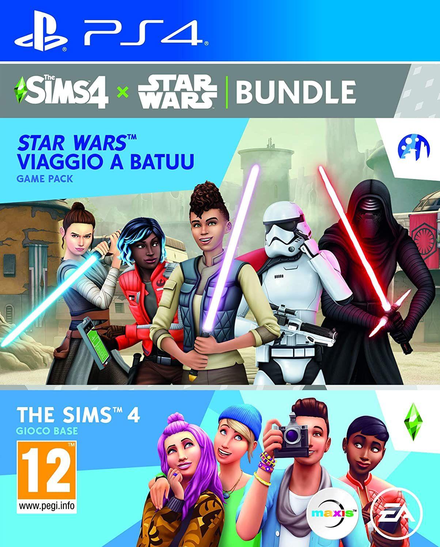 Die Sims 4 - Basisspiel + Star Wars: Reise nach Batuu-Bundle (PEGI) [Playstation 4, Xbox One, PC]