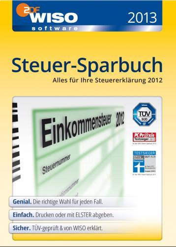 [lokal offline] WISO Steuer-Sparbuch & Steuer 2013