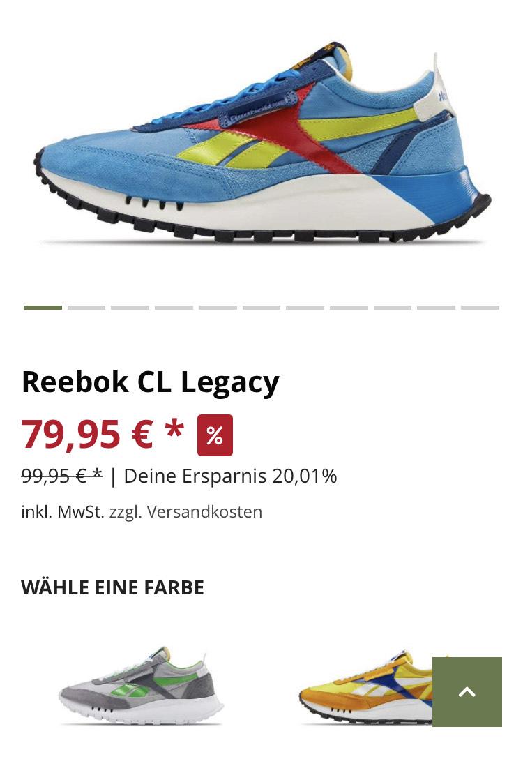 Reebok CL Legacy ...