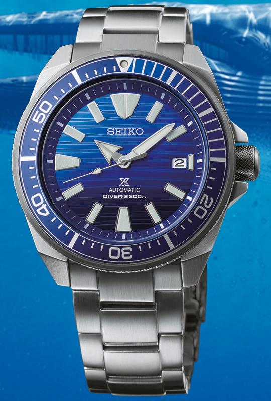 Seiko Prospex Automatik Uhr Save the Ocean SRPC93K1 (Samurai, 4R35, 44mm)