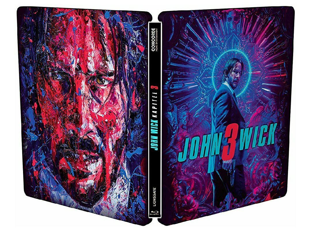 John Wick 3 Blu Ray Steelbook