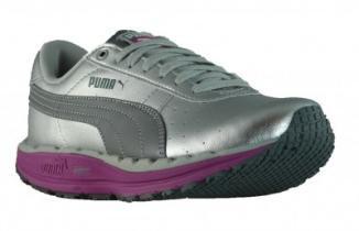 Puma Bodytrain BioRide - Damensportschuh Farbe silber/grau/fuchsia @ dealclub.de