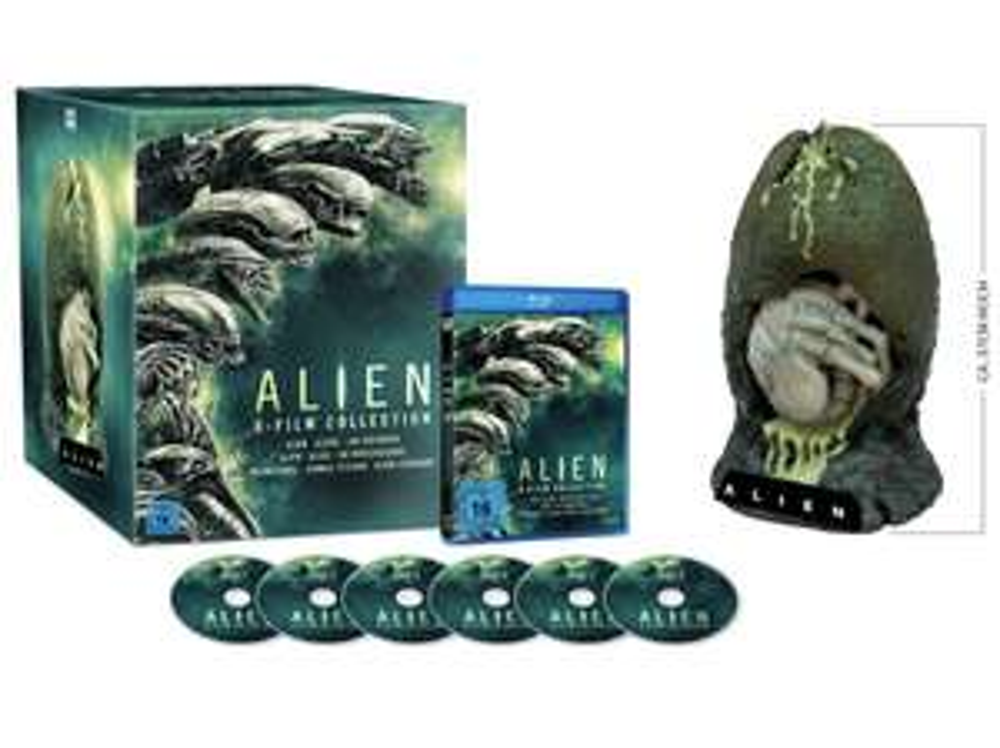 Alien 1-6 Collection [Special-Edition mit Alien-Ei-Figur]