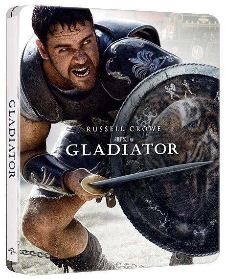 3x 4K Blu-ray Steelbooks für 37,38€ - Gladiator, A Quiet Place, Friedhof der Kuscheltiere,