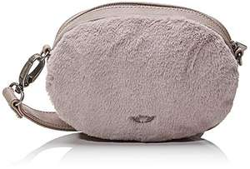 Fritzi aus Preußen Candy Fur Shoulder Bag Lavender Stone