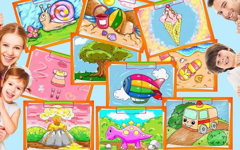 [Google Playstore] Erstes Malbuch für Kindergartenkinder