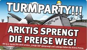 Arktis.de Turmparty