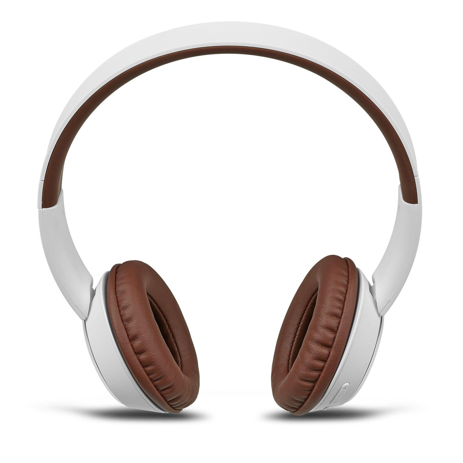 MEDION LIFE E62380 Bluetooth Kopfhörer Kabelloses Headset Over Ear Stereo weiß