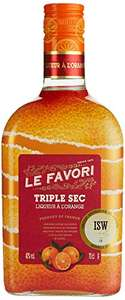 Le Favori Triple Sec Orangenlikör (40% vol., 0.7 l) [Amazon-Prime]
