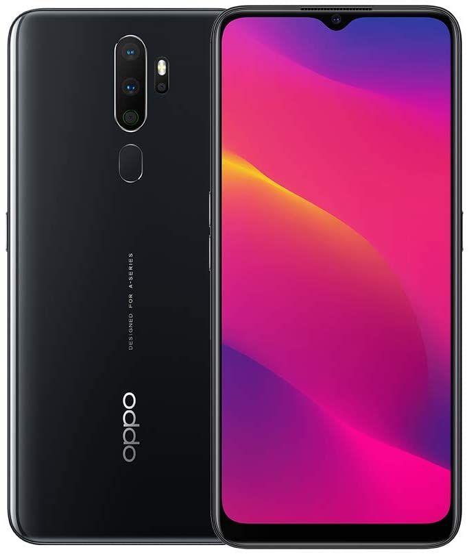 """OPPO A5 2020 6,5"""" HD+ Dual-SIM Smartphone 3/64GB (Snapdragon 665, 5.000 mAh, 12MP Triple-Cam, Bluetooth 5.0) in Schwarz oder Weiß"""