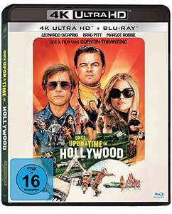 Once Upon A Time In… Hollywood 4k UHD Blu-ray @Amazon Prime