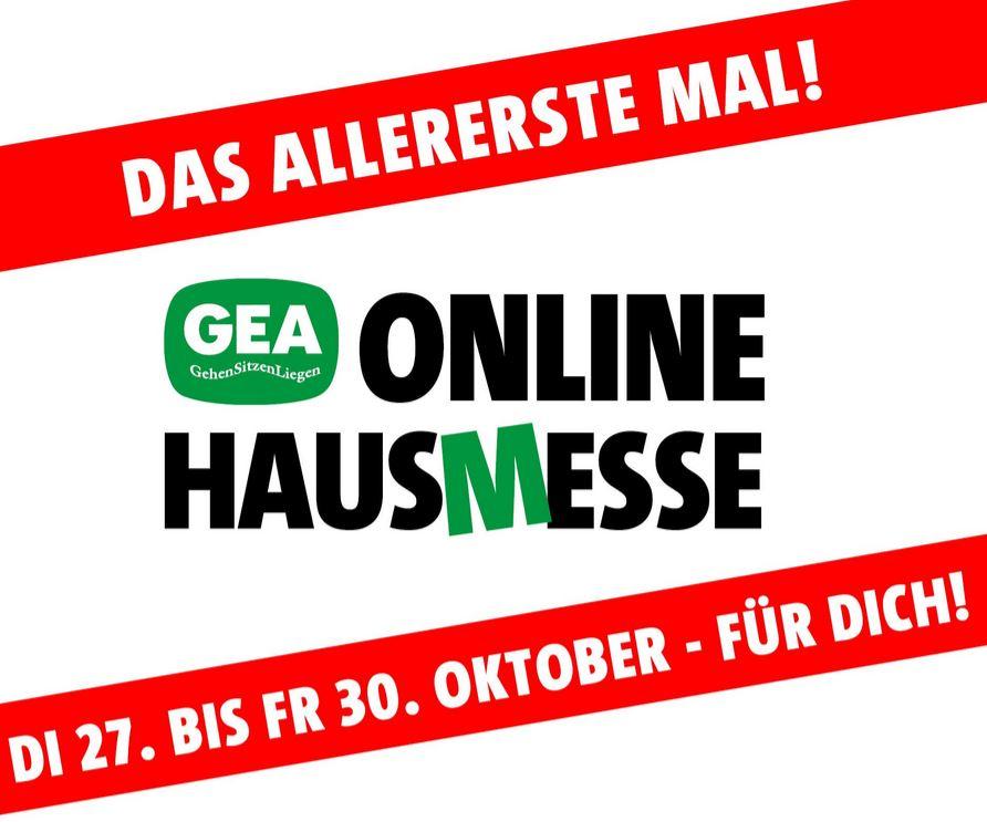 GEA Hausmesse - Angebote zu Schuhe, Taschen, Möbel usw.
