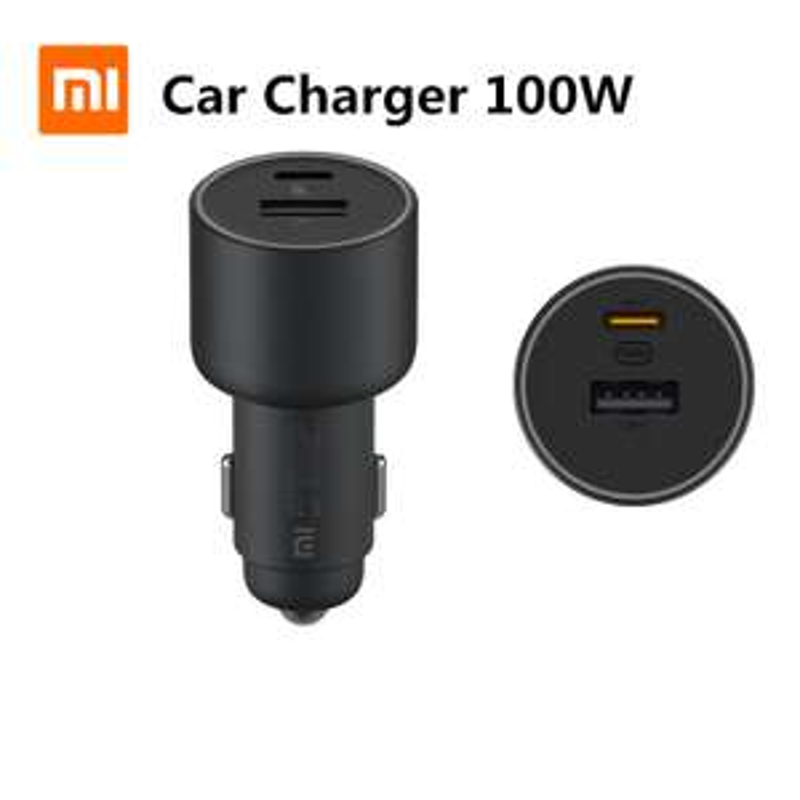 Xiaomi 100W 5A Car USB-C PD Charger - Ladegerät für Nintendo Switch, Notebook, Smartphones