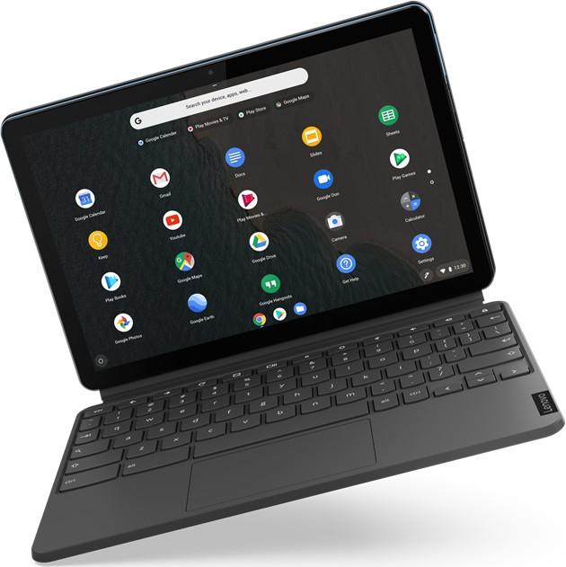 "[MM Club] Lenovo IdeaPad Duet Chromebook (10.1"" WUXGA, IPS, 400cd/m², 4GB RAM, 128GB Flash, USB-C, 802.11ac, 7000mAh, ChromeOS)"
