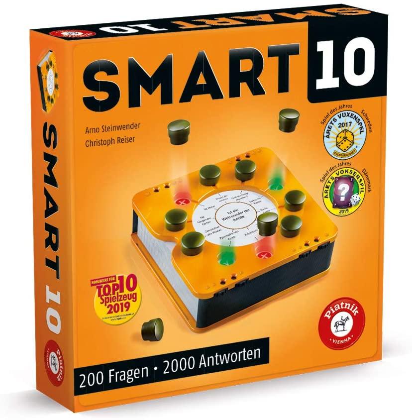 """[Prime] Smart 10 """"Das revolutionäre Quizspiel"""" für 2-8 Spieler (Gesellschaftsspiel; Spiel des Jahres '17 in Schweden & '19 in Dänemark)"""