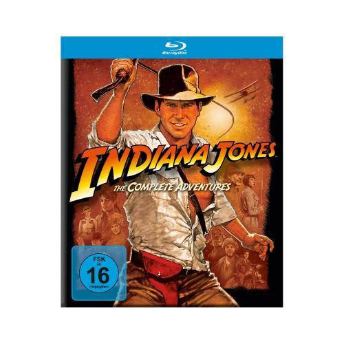 Indiana Jones - Complete Adventures [Blu-Ray] @Mediamarkt Leipzig -29€