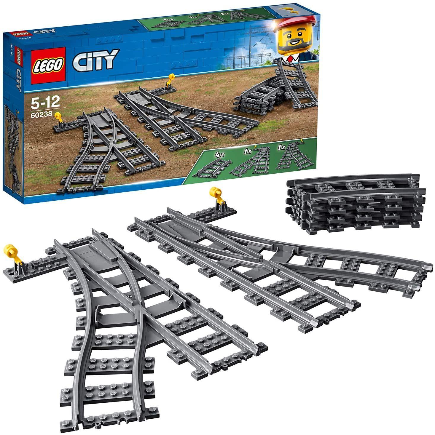 [Amazon Prime / Packstation] LEGO City 60238 Weichen / Schienen