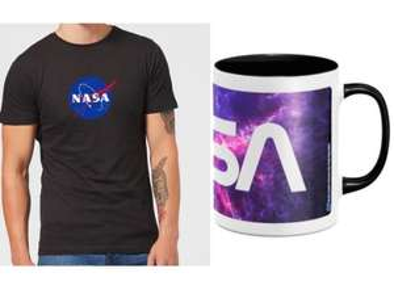 NASA T-Shirt (3 Designs) und Tasse