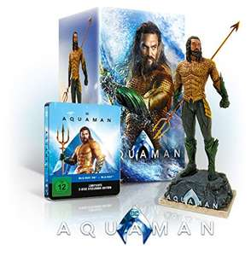 Aquaman Ultimate Collectors Edition 3D inkl Figur und Steelbook für 56,70 € auf Amazon