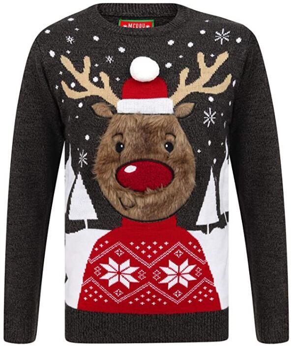 """Tokyo Laundry Herren Pullover """"Merry Christmas"""" (2 verschiedene Farben, Gr. S - XXL) für 22,08€"""