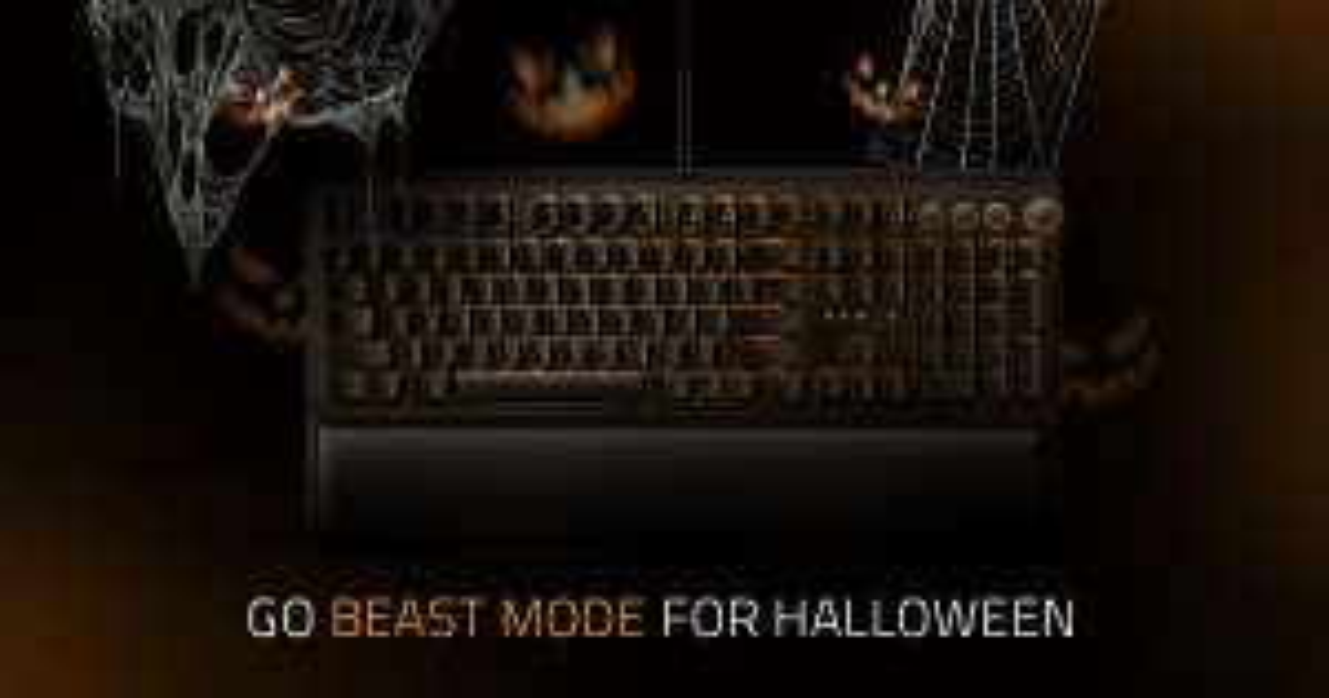 Razer Halloween (bis zu -50%)