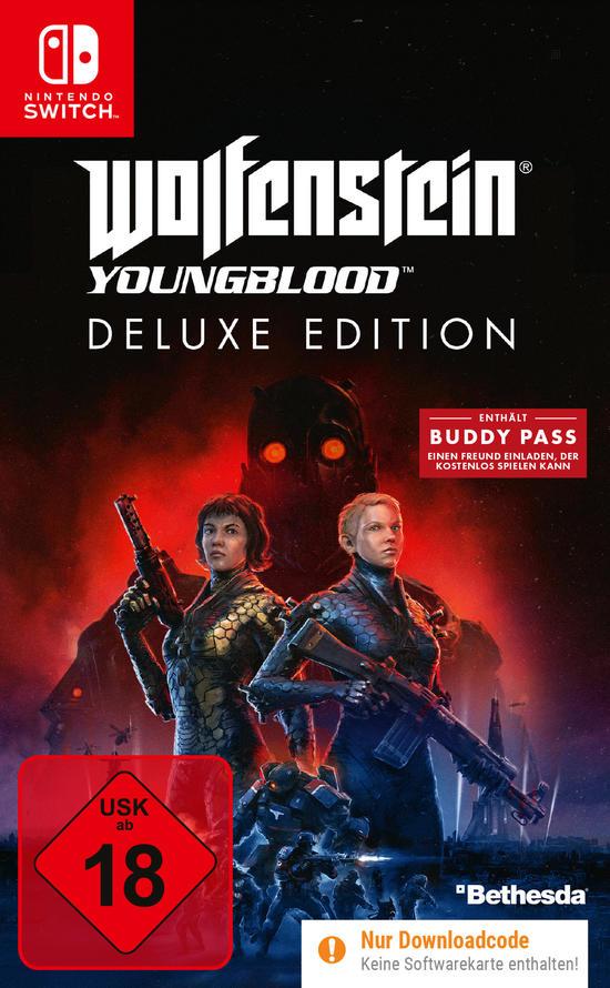 Wolfenstein: Youngblood Deluxe Edition (Switch) für 14,54€ und (PS4 & Xbox One) für 12,60€ (GameStop)