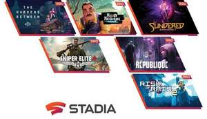 Google Stadia Pro Games im November