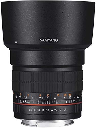 Samyang 85mm F1.4 Objektiv für Anschluss FT