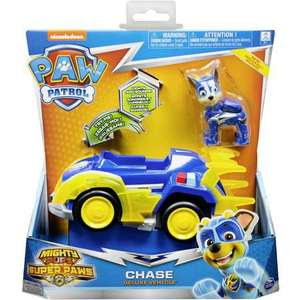 Paw patrol mighty pups deluxe vehicle super paws vskfrei ab 29€