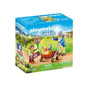 [Amazon Prime] PLAYMOBIL City Life 70194 Oma mit Rollator, Ab 4 Jahren