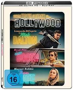 Once Upon A Time In… Hollywood (4K Blu-ray + Blu-ray) Limited Steelbook Edition für 19,59€ (Amazon Prime)
