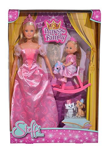 Simba 105733223 Steffi Love Princess Family (Prime)