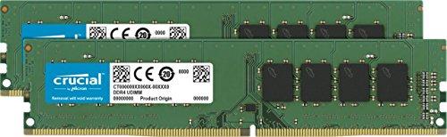 Crucial 16GB DDR4-2666 CL19 Kit für 46,99€ (Amazon)