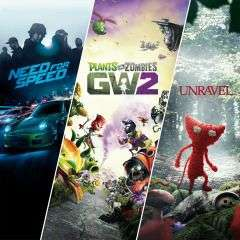 EA Family-Bundle: Need For Speed + Plants vs Zombies GW2 + Unravel (PS4) für 5,99€ (PSN Store)