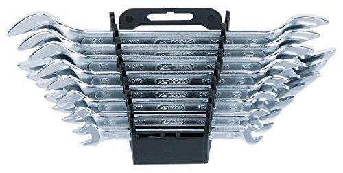 [Amazon Prime] KS Tools 517.0148 CLASSIC Doppel-Maulschlüssel-Satz, 8-tlg., 6x7-20x22mm