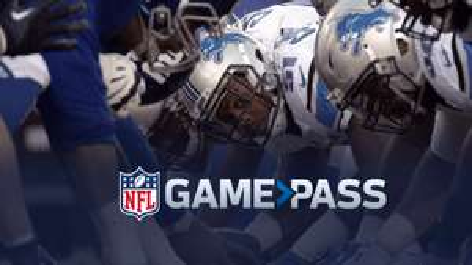 NFL GamePass Pro Weekpass für 5,- € (diese Woche nur 10,- € plus 50% Rabatt)
