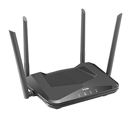 [Amazon] D-Link DIR-X1560 AX1500 EXO WI-Fi 6 Router (2,4 & 5 GHz, 1.500 Mbit/s, 802.11a/b/g/n/ac/ax, OFDMA, MU-MIMO, WPA3, 4 x LAN)