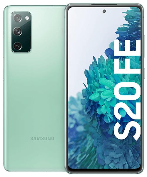 Samsung Galaxy S20 FE für 9€ ZZ mit o2 Free M (20GB LTE, 225 Mbit/s, Allnet- & SMS-Flat, VoLTE, WLAN Call) mtl. 23,99€ + 100€ Samsung Pay