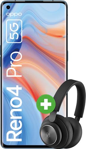 Oppo Reno4 Pro mit Kopfhörer B&O Beoplay H4 (250€) im O2 Free M (20GB LTE, Allnet/SMS, VoLTE und VoWiFi) mtl. 23,99€ einm. 79€